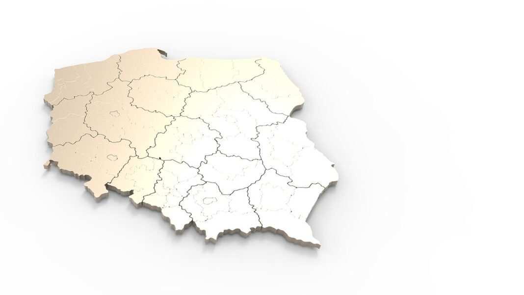 Czyste powietrze, uchwały antysmogowe, mapa Polski