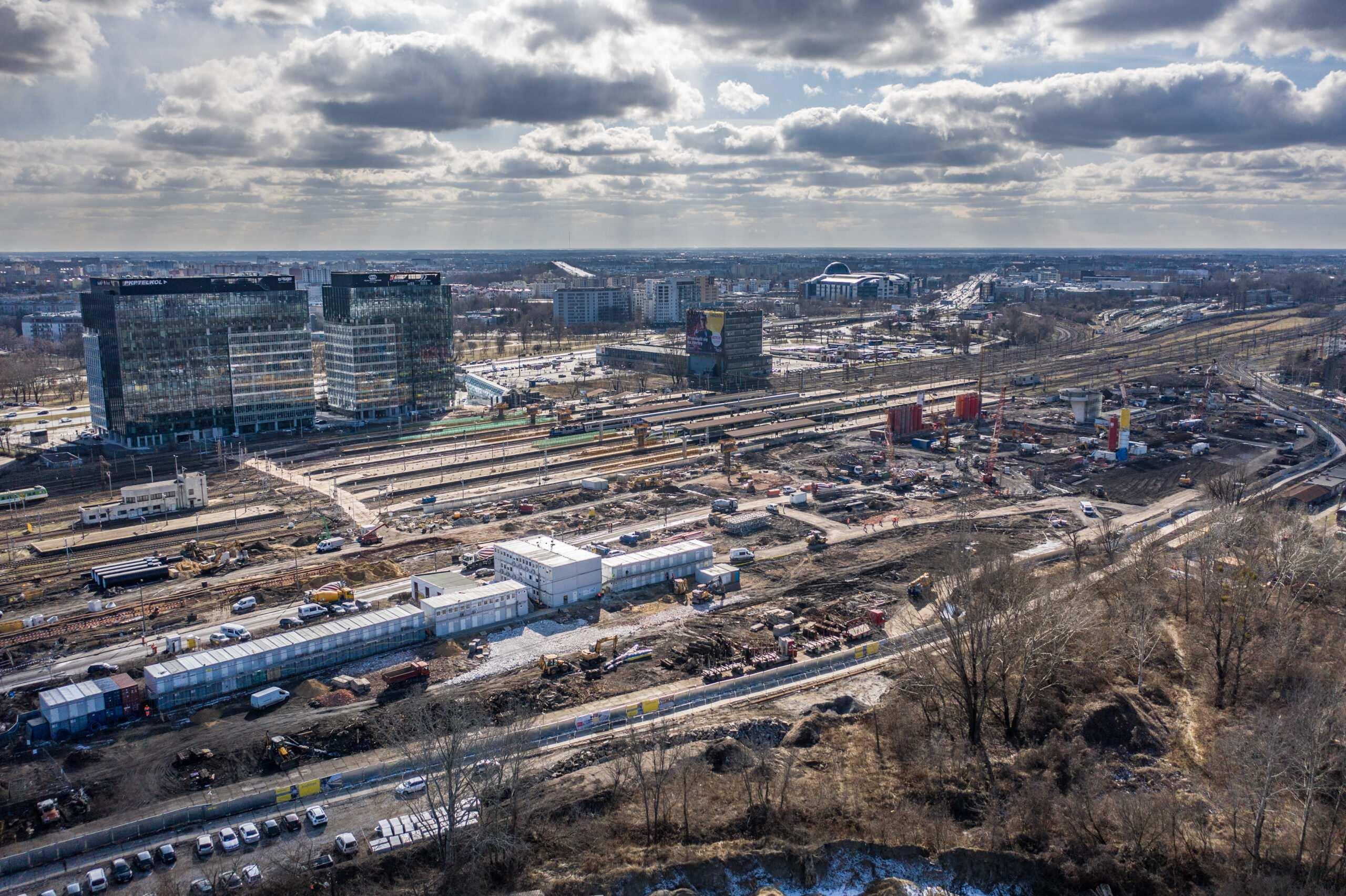 Dworzec kolejowy, Dworzec Zachodni, Warszawa Zachodnia