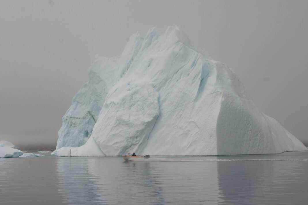 Grenlandia, lodowiec