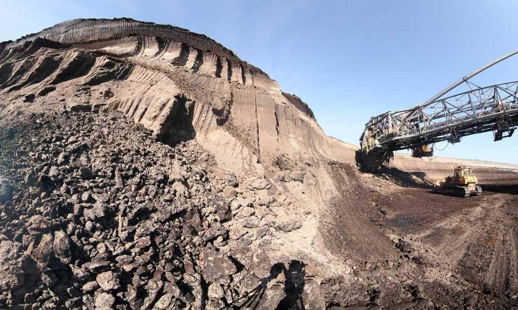 kopalnia Bełchatów koparka