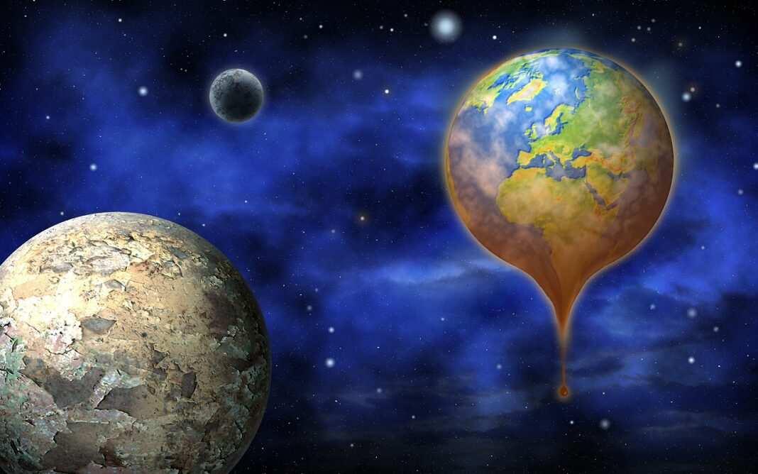 Emisje Co2, Ziemia
