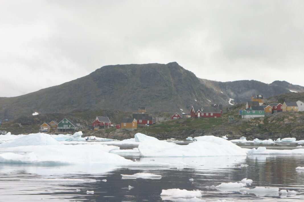zmiany klimatu Grenlandia