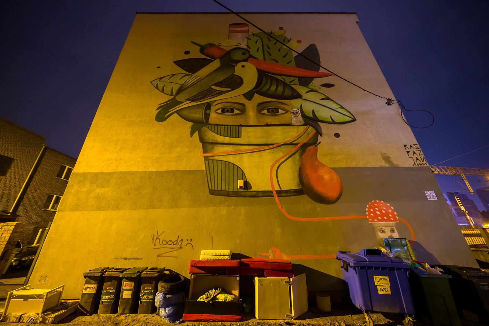 ekologiczny mural